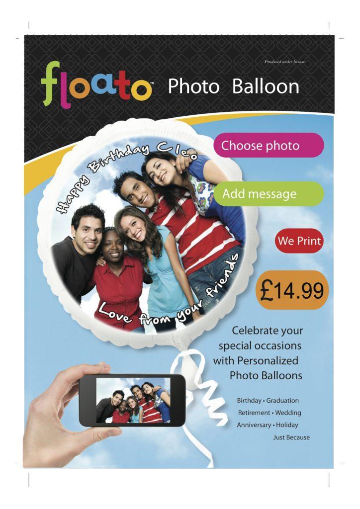 Floato Balloon Poster £14.99